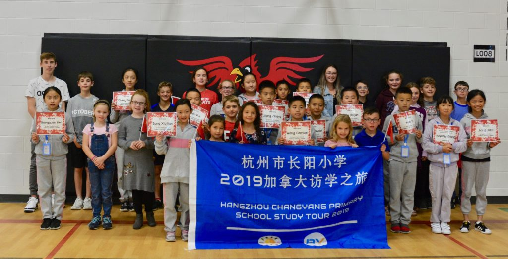 Holy Trinity Hosts Chinese Students for Short-Term Visit