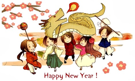 Happy New Year to Our Friends in China and Vietnam!